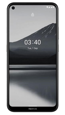 Nokia 3.4 32GB Charcoal Front