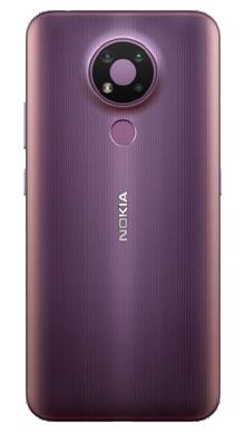 Nokia 3.4 32GB Dusk Back