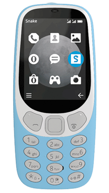 Nokia 3310 Blue Front