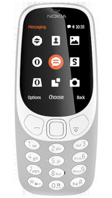 Nokia 3310 Grey Front