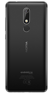 Nokia 5.1 Black Back