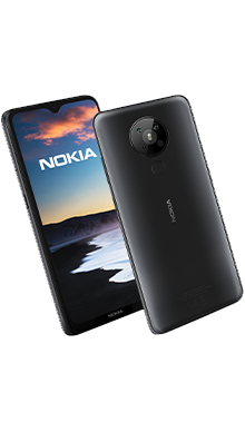 Nokia 5.3 64GB Charcoal Side