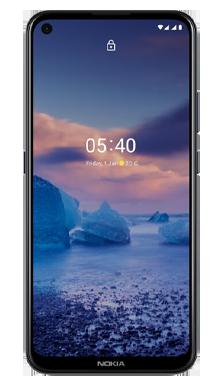 Nokia 5.4 64GB Polar Blue Front