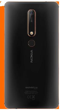 Nokia 6.1 Black Back