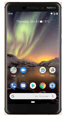 Nokia 6.1 Black Front