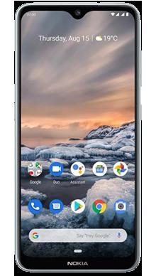 Nokia 7.2 Blue Front