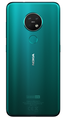 Nokia 7.2 Green Back