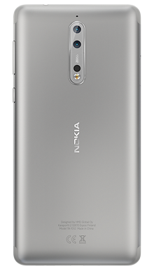 Nokia 8 Steel Back