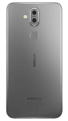 Nokia 8.1 Iron Steel Back