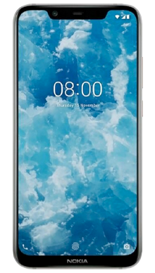 Nokia 8.1 Iron Steel Front
