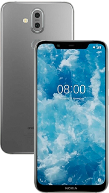 Nokia 8.1 Iron Steel