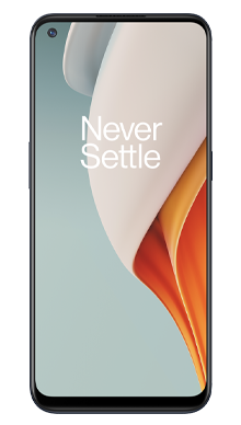 OnePlus Nord N100 64GB Midnight Frost Front