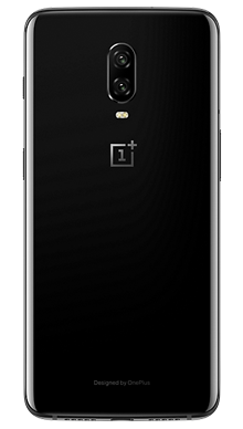 OnePlus 6T 6GB RAM 128GB Black Back