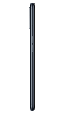 Oppo A53 64GB Electric Black Side