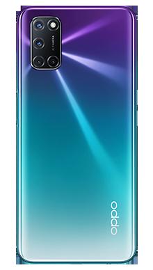 Oppo A72 128GB Aurora Purple Back