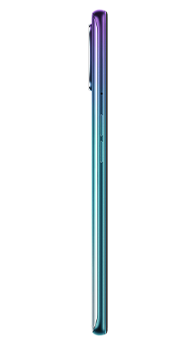 Oppo A72 128GB Aurora Purple Side