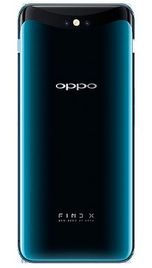 Oppo Find X 128GB Glacier Blue Back