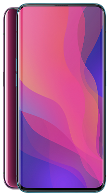 Oppo Find X 128GB Bordeaux Red