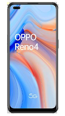 Oppo Reno4 5G 128GB Space Black Front