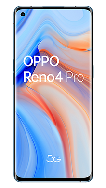 Oppo Reno4 Pro 5G 128GB Galactic Blue Front
