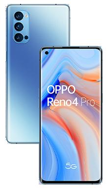Oppo Reno4 Pro 5G 128GB Galactic Blue
