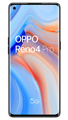 Oppo Reno4 Pro 5G 128GB Space Black Front