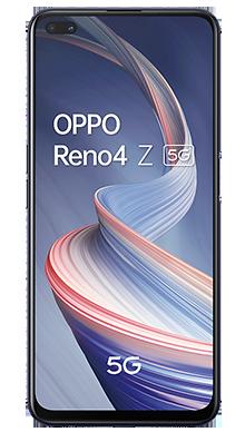 Oppo Reno4 Z 5G 128GB Ink Black Front