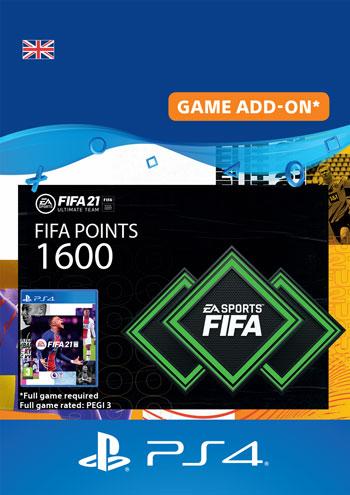 FUT 21 FIFA 1600 Points