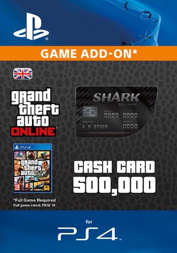 GTAV - Bull Shark Cash Card