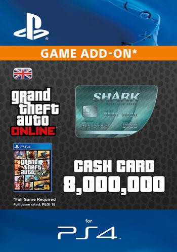 GTAV - Megalodon  Shark Cash Card