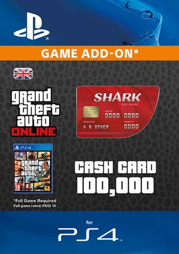 GTAV - Red Shark Cash Card
