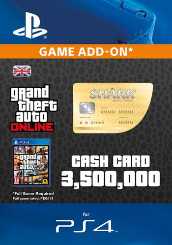 GTAV - Whale Shark Cash Card