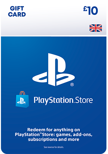 £10 PlayStation™Store Gift Card