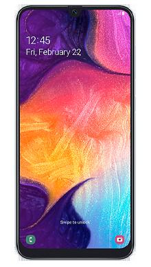 Samsung Galaxy A50 Black Front