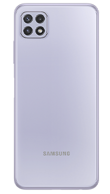 Samsung Galaxy A22 5G 64GB Violet Back