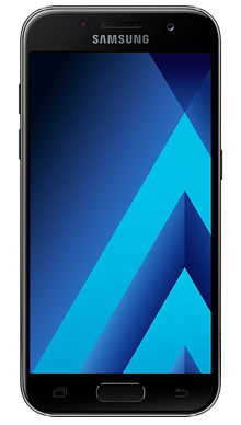 Samsung Galaxy A3 2017 Black Front