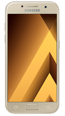 Samsung Galaxy A5 2017 Gold Front