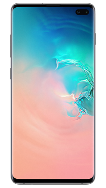 Samsung Galaxy S10 Plus 128GB Prism White Front