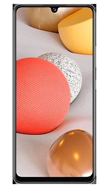Samsung Galaxy A42 5G 128GB White Front