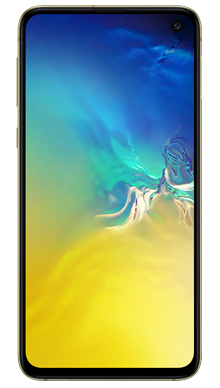 Samsung Galaxy S10e 128GB Canary Yellow Front