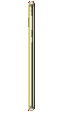 Samsung Galaxy S10e 128GB Canary Yellow Side