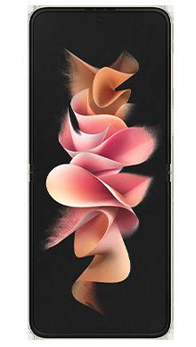 Samsung Galaxy Z Flip 3 5G 128GB Cream Front