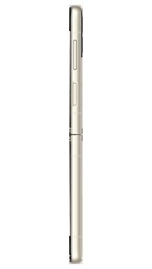 Samsung Galaxy Z Flip 3 5G 128GB Cream Side