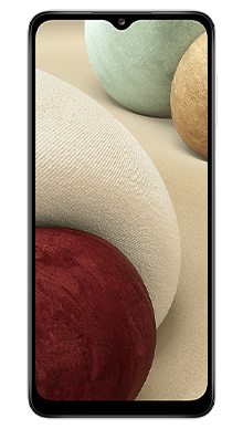Samsung Galaxy A12 64GB White Front