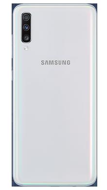 Samsung Galaxy A70 White Back