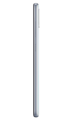 Samsung Galaxy A70 White Side