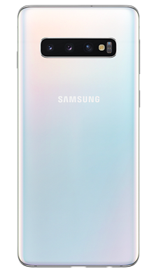 Samsung Galaxy S10 128GB Prism White Back