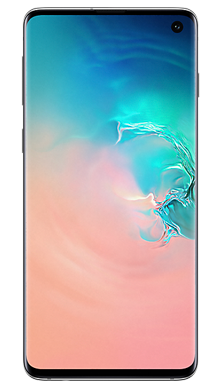 Samsung Galaxy S10 512GB Prism White Front
