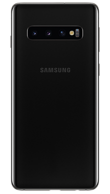 Samsung Galaxy S10 5G 256GB Majestic Black Back