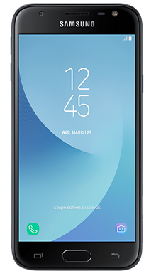 Samsung Galaxy J3 2017 Black Front